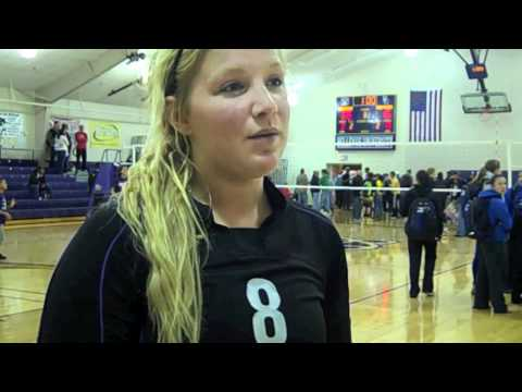 Volleyball interview with Benson vs. York, 10.18.2011