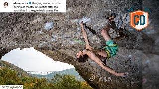 Adam Ondra's 7 8b/+ Onsight RAMPAGE | Climbing Daily Ep.1596 by EpicTV Climbing Daily