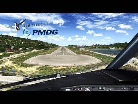 │FSX 2015│PMDG Air Berlin Boeing 737-800NGX Landing at Skiathos [1080p50]
