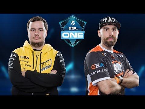 CS:GO - Virtus.Pro vs. NaVi [Mirage] Map 3 - ESL One New York 2016 - Grand Final