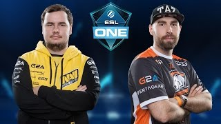 CS:GO - Virtus.Pro vs. NaVi [Mirage] Map 3 - ESL One New York 2016 - Grand Final