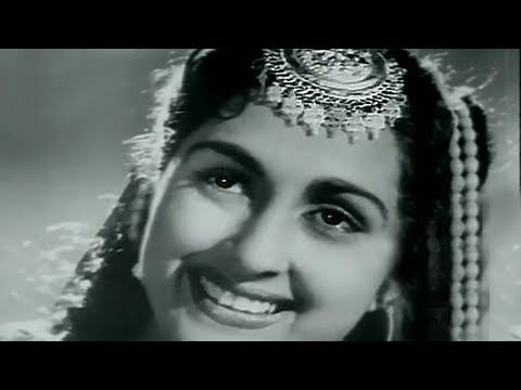 filmistan - Super Hit old classic movie, Anarkali (1953), a love story, starring Pradeep Kumar, Bina Roy, Kuldip Kaur, Nurjehan, Manmohan K. Music: C. Ramchandra, Direct...