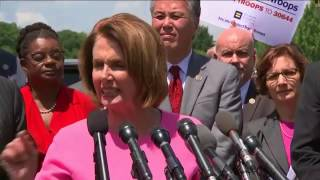 House Democrats are slamming President Donald Trump's military transgender ban. Leader Nancy Pelosi described the newly ...
