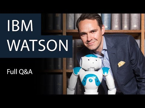 IBM Watson | Full Q&A | Oxford Union (видео)