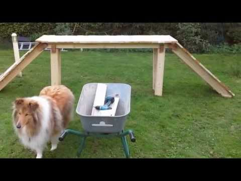 hunde agility ger te f r gro e hunde selber machen und bauen selber machen anleitungen. Black Bedroom Furniture Sets. Home Design Ideas