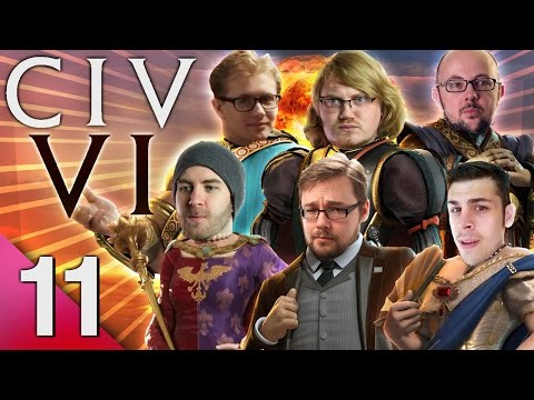 Civ 6 - Prongs of Power #11 - Amidst the Chaos (FINAL) (видео)