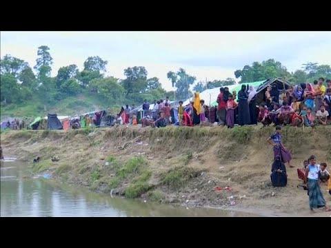 Εγκλωβισμένοι χιλιάδες Ροχίνγκια στα σύνορα της Μιανμάρ με το Μπανγκλαντές