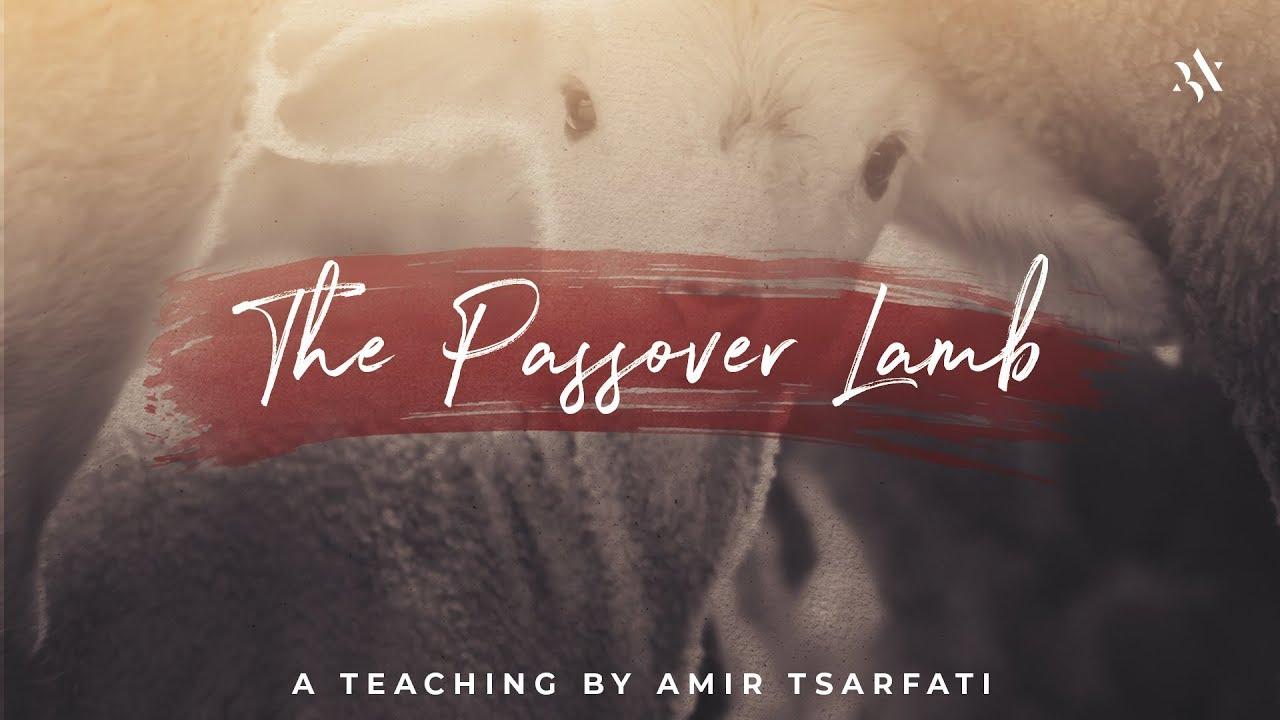Amir Tsarfati: The Passover Lamb