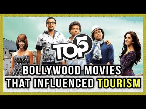 Top 5 - Bollywood Movies that influenced Tourism