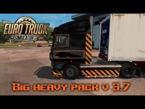 Big Heavy Pack ETS2 v3.7 1.31