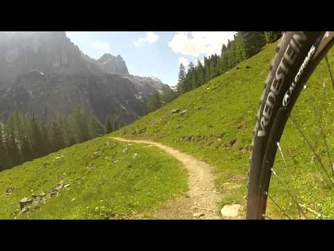 MTB-Trail Stubai Elfer-Pinnisalm (видео)
