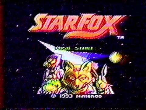 Star Fox - Intro (5th Generation VHS Copy)