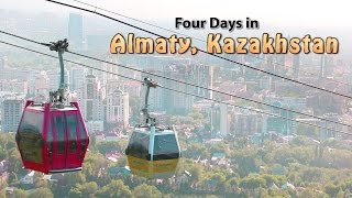 Almaty Kazakhstan  City new picture : Four Days in Almaty, Kazakhstan - Half-Hour Travel Show with Glenn Campbell
