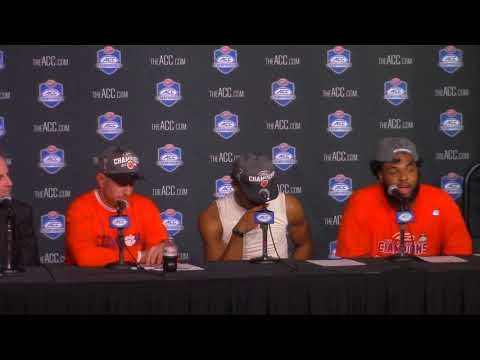 Clemson 38 Miami 3: Dabo Swinney, Kelly Bryant, Christian Wilkins postgame press conference