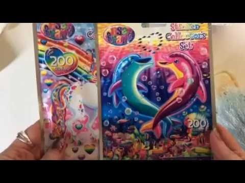 Review: Lisa Frank sticker sets from Dollar Store