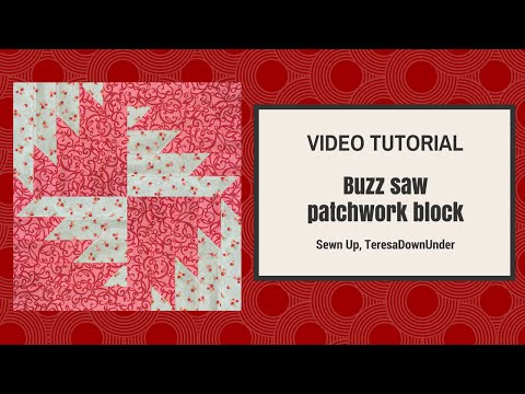 blocco circolare in patchwork