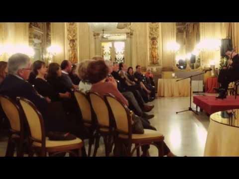 Rafael Elizondo chitarra Concerto a Bari -Teatro Petruzzelli Salone degli specchi. 2da parte