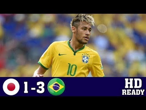 Japan vs Brasil 1 3 All Goals & Extended Highlights International Friendly Match 10th Nov 2017 HD