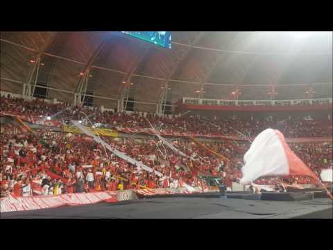 Recebimento - Inter x Coritiba - Guarda Popular do Inter - Internacional