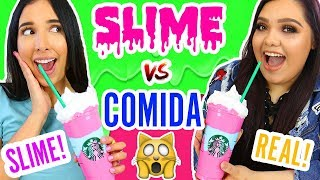 Video SLIME VS REAL FOOD CHALLENGE ft KARINA GARCIA The SLIME QUEEN 👑 | Mariale MP3, 3GP, MP4, WEBM, AVI, FLV Agustus 2018