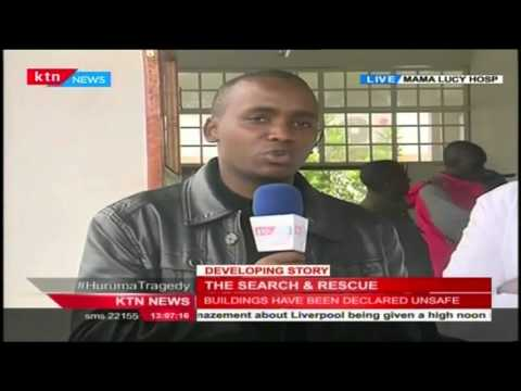 KTN'S Nick Wambua with update on casualties of the Hurauma tragedy from Mama Lucy Hospital