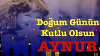 AYNUR  İyi ki Doğdun :)  #3# *happy birthday Aynur* Made in Turkey :) 🎂