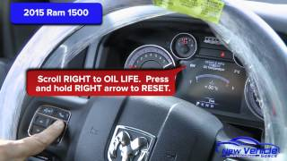 6. 2015 Ram 1500 Oil Light Reset / Service Light Reset