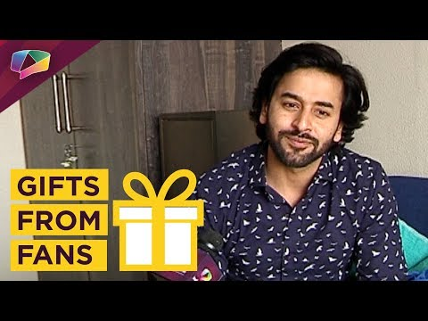 Shashank Vyas Receives Gifts From His Fans |
