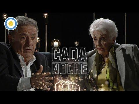 Eduardo Alberto Duhalde en Cada noche
