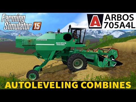 Autoleveling Combines - Arbos 705A4L & Arbos 40 v1