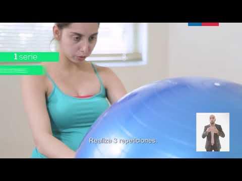 Ejercicios físicos en el tercer trimestre del embarazo