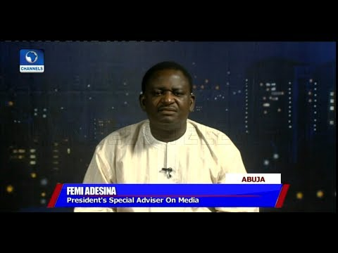 'Jailing More Thieves Comments', Only Thieves, Potential Thieves Have Cause To Worry - Adesina (видео)
