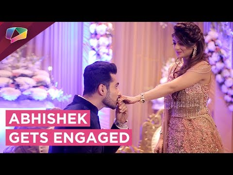 Abhishek Bajaj Gets Engaged | Romantic Ring Ceremo