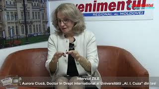 INTERVIUL ZILEI-invitat: av. Aurora Ciucă