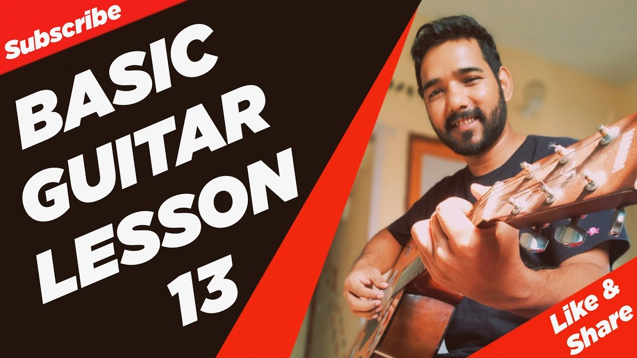 Basic Guitar Lesson 13 (Chromatic Scale) by | Acoustic Pahadi |