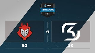 G2 vs SK, game 1