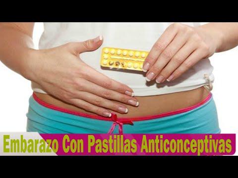 ¿Se puede quedar embarazada tomando pastillas anticonceptivas?