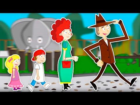 Dziecięce Przeboje - Idziemy Do ZOO (Nowy Teledysk)