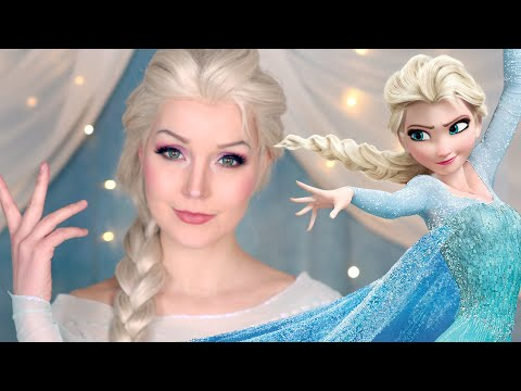 Elsa MakeUp Tutorial/Transformation