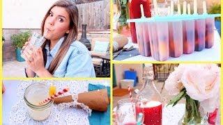 Healthy&Yummy Summer Treat Ideas!
