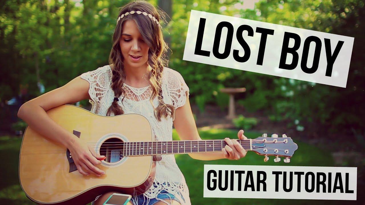 Lost Boy – Ruth B // Guitar Tutorial
