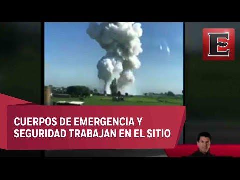 Otra explosión de polvorín en Tultepec, Edomex