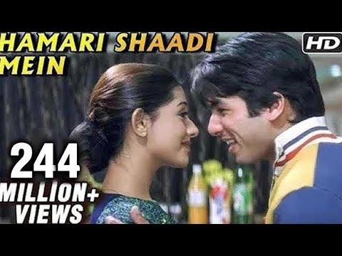 Hamari Shaadi Mein - Vivah - Shahid Kapoor, Amrita Rao
