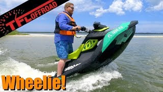 9. 2019 Sea-Doo Spark Trixx Review - The Water Wheelie King!