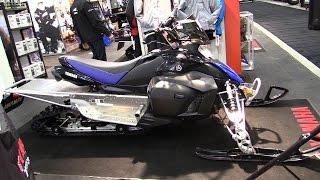 9. 2015 Yamaha PHAZER X TX Snowmobile Walkaround - 2014 Toronto Snowmobile & ATV Show