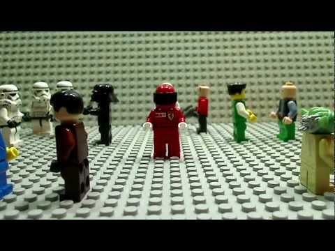 """Harlem Shake con Legos de """"La Guera de las Galaxias"""""""