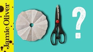 How To Make A Cartouche | 1 Minute Tips | French Guy Cooking by Jamie Oliver