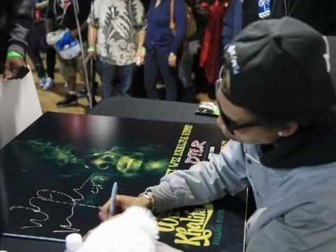 Wiz Khalifa DTLR Instore