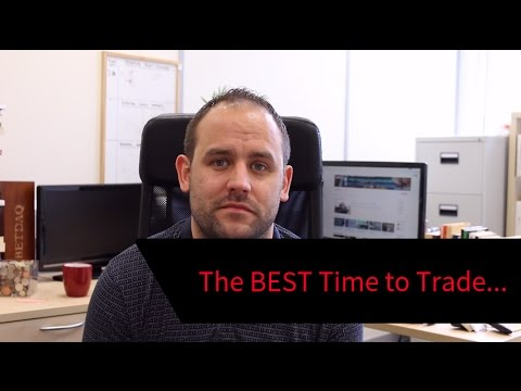 When's the BEST Time to Trade?