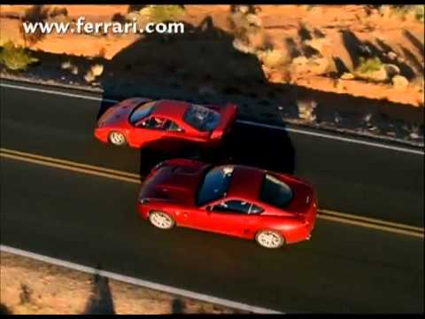Ferrari 599 Vs F40 Ferrari Drag Race Official Cool Commercial 2012 - Carjam Radio Show 2012